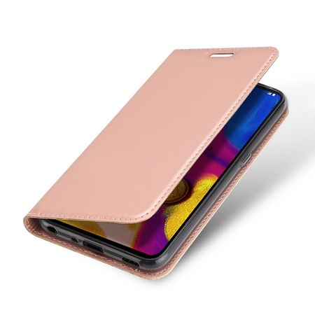 Dux Ducis -  LG V40 ThinQ Hülle - Handy Bookcover - Skin Pro Series - rosegold