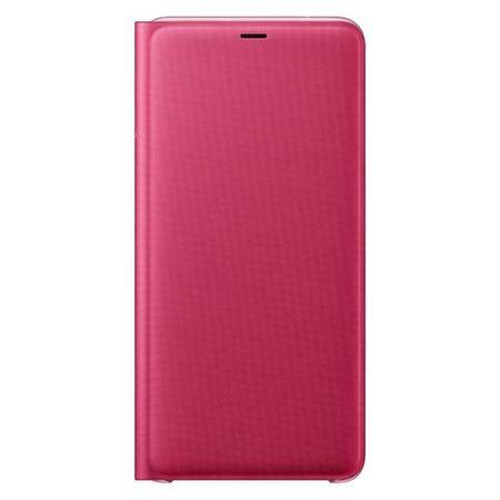 Samsung - Original Galaxy A9 (2018) Hülle - Flip Wallet Bookcover - EF-WA920PPEG - pink