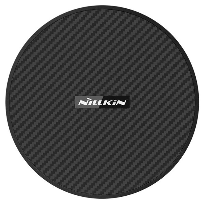 Nillkin Nillkin - Qi Wireless Ladestation (5W, 7.5W, 10W, 15W) - PowerFlash Series - Aramid Fiber - schwarz