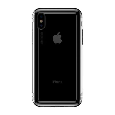 Baseus - iPhone XS Hülle - Ultrarobuster Rahmen - Safety Airbags Series - transparent