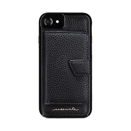 Case-Mate - iPhone 8 / 7 / 6s / 6 Hülle - Compact Mirror - schwarz