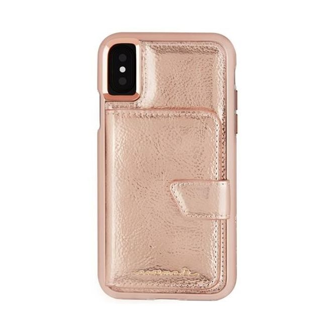 Case-Mate Case-Mate - iPhone XS / X Hülle - Compact Mirror - rosegold