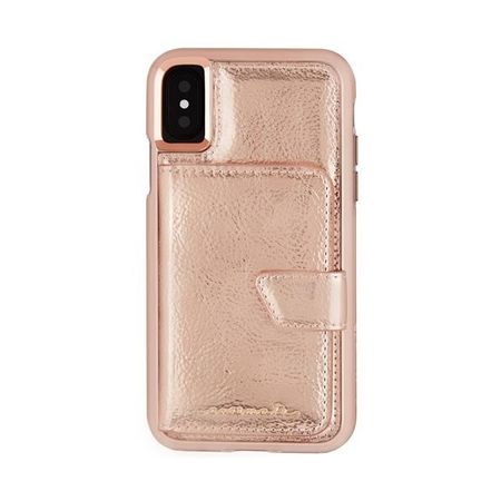 Case-Mate - iPhone XS / X Hülle - Compact Mirror - rosegold