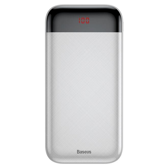 Baseus Baseus - Power Bank - 20000mAh - Digitales Display - Mini Cu Series - weiss