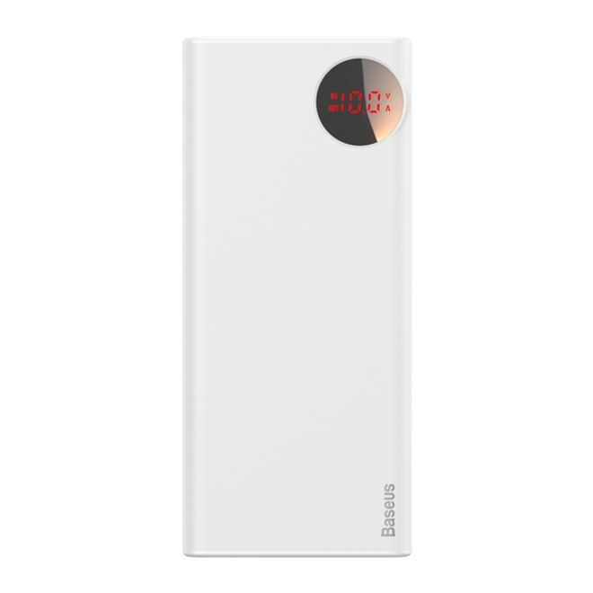 Baseus Baseus - Power Bank - 20000mAh - PD 3.0 & QC 3.0 - Bright Moon Series - weiss