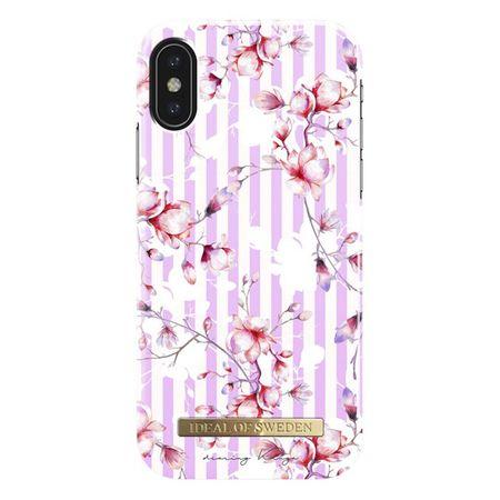 iDeal of Sweden - iPhone XS / X Hülle, Designer Case Magnolia Stripes - mehrfarbig/Muster