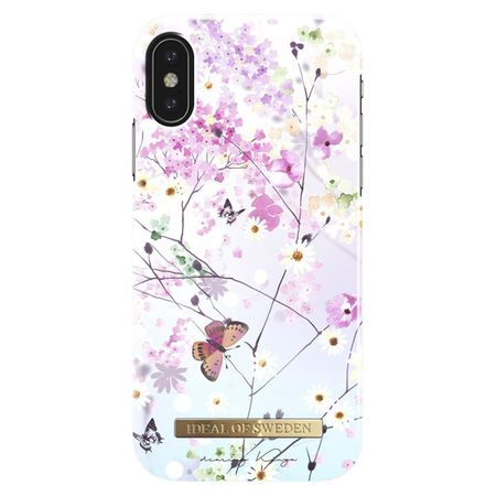 iDeal of Sweden - iPhone XS / X Hülle, Designer Case Springtime Whimsy - mehrfarbig/Muster