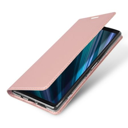 Dux Ducis - Sony Xperia 1 Hülle - Handy Bookcover - Skin Pro Series - rosa