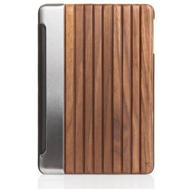 WOODCESSORIES WOODCESSORIES - iPad Pro 9.7 Hülle - Echtholz Case - EcoGuard - Walnuss/Silber