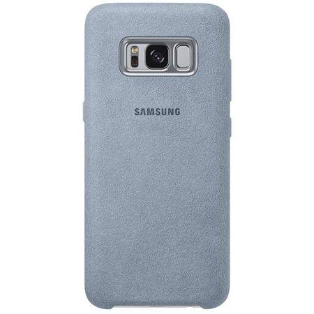 Samsung - Galaxy S8 Case - Hülle aus Plastik - Alcantara Cover - EF-XG950AMEGWW - mint