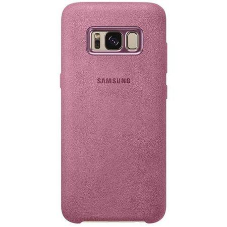 Samsung - Galaxy S8 Case - Hülle aus Plastik - Alcantara Cover - EF-XG950APEGWW - pink