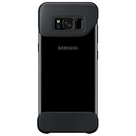 Samsung - Original S8 Plus Hülle - 2 Piece Hard Cover - EF-MG955CBEGWW - schwarz
