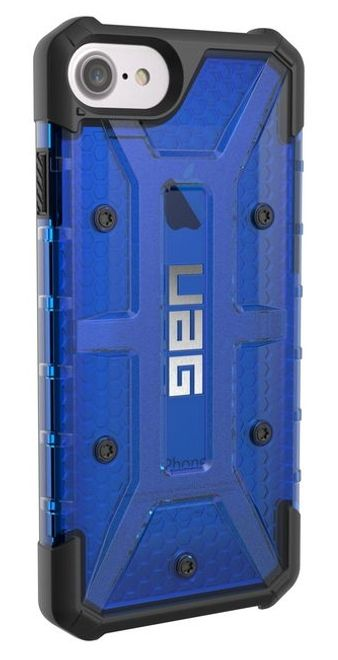 UAG UAG - iPhone 8/7/6S Hülle - Robustes Backcover - Plasma Case - blau