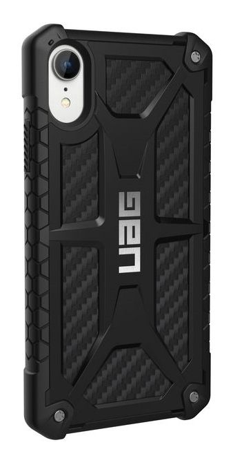UAG UAG - iPhone XR Hülle - Robustes Backcover - Monarch Case - Carbon