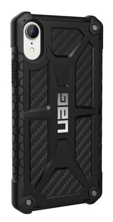 UAG - iPhone XR Hülle - Robustes Backcover - Monarch Case - Carbon