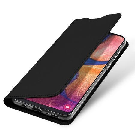 Dux Ducis - Samsung Galaxy A20e Hülle - Handy Bookcover - Skin Pro Series - schwarz