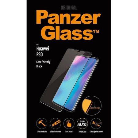 PanzerGlass - Huawei P30 Displayschutz - Edge2Edge Vollbild (5334) - transparent