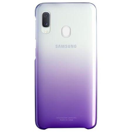 Samsung - Original Galaxy A20e Hülle - Gradation Hard-Cover - EF-AA202CVEGWW - violett