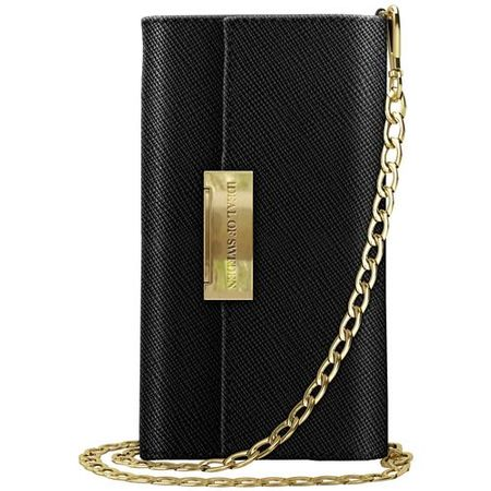 iDeal of Sweden - iPhone XS Max Hülle - Bookcover - Crossbody Safiano - schwarz