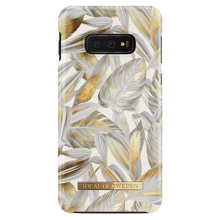 iDeal of Sweden - Samsung Galaxy S10e Hülle - Designer Case Platinum Leaves