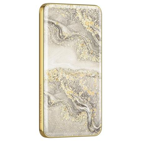 iDeal of Sweden - Power Bank - 5000 mAh - Sparkle Greige Marble - mehrfarbig/Muster