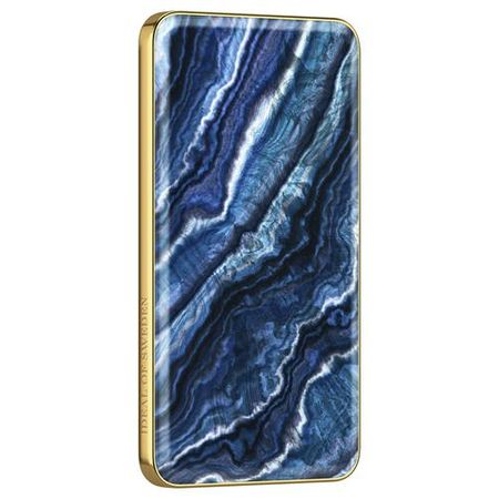 iDeal of Sweden - Power Bank - 5000 mAh - Indigo Swirl - mehrfarbig/Muster