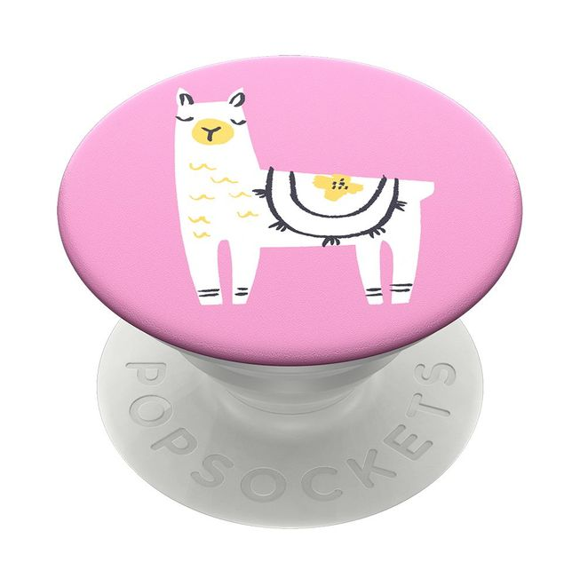 Popsockets PopSockets - Finger Griff Halterung (2. Gen, austauschbar) - (800945) Llama Glama