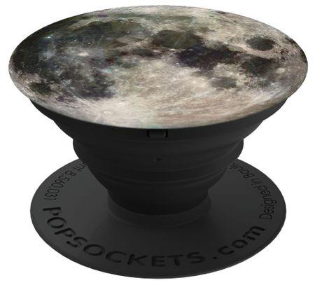 PopSockets - Finger Griff Halterung für Handys / Tablets - (96702) Moon