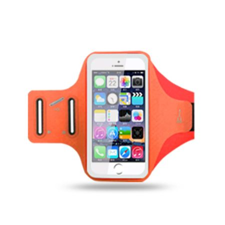 MU Classic - Sport Fitness Armband - für iPhone 8 Plus / 7 Plus - orange