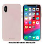 Goospery - iPhone SE / 8 / 7 Handyhülle - Case aus Silikon - Silicone Case Series - rosegold