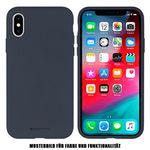 Goospery - iPhone 8 Plus/7 Plus Handyhülle - Case aus Silikon - Silicone Case Series - blau