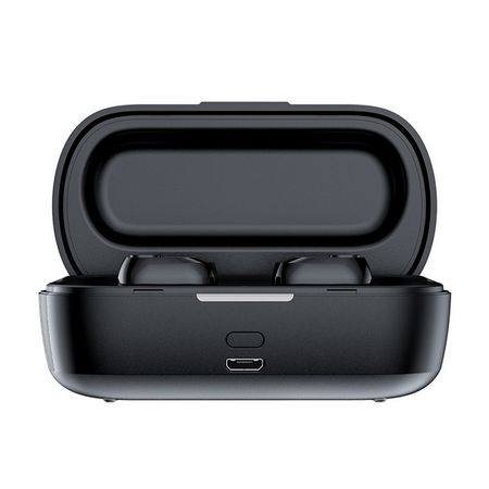Baseus - Encok True Wireless Earphones W01 - In-Ear Kopfhörer Headset mit 2000mAh Ladecase - schwarz