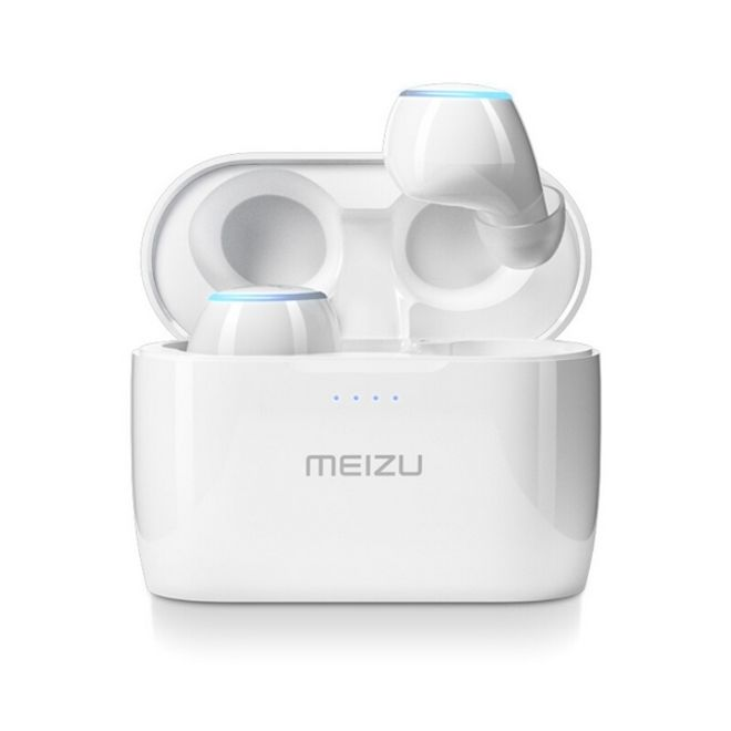 Meizu Meizu POP 2 - True Wireless Sport Headset - Bluetooth Kopfhörer mit Mikrofon - weiss
