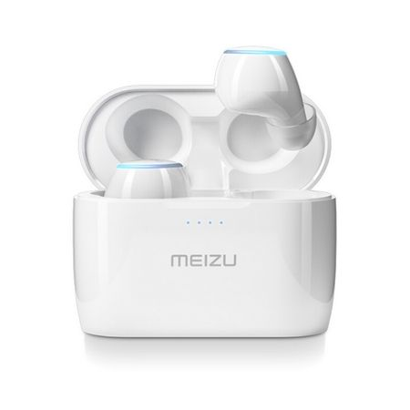 Meizu POP 2 - True Wireless Sport Headset - Bluetooth Kopfhörer mit Mikrofon - weiss