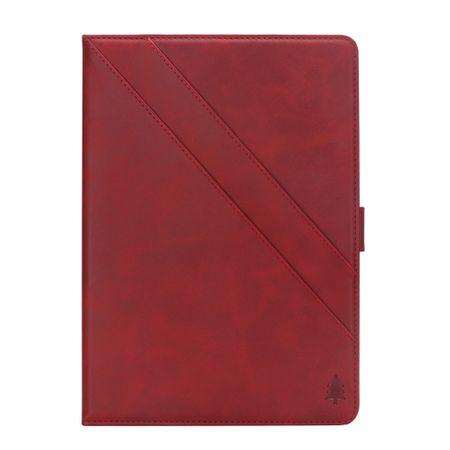 Amazon Kindle Paperwhite (2018) Hülle - Leder Flip Case - rot
