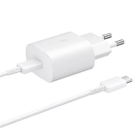 Samsung - Original USB Typ-C Ladegerät - inkl. Typ-C Kabel - 1m - weiss