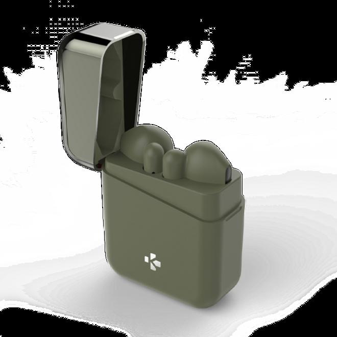 MyKronoz MyKronoz - In-Ear Kopfhörer TWS mit Ladebox - Designed in Switzerland - ZeBuds Series - khakifarben