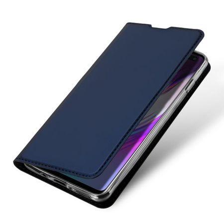 Dux Ducis - Samsung Galaxy S10 5G Hülle - Handy Bookcover - Skin Pro Series - blau