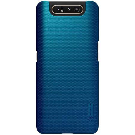 Nillkin - Samsung Galaxy A80 Hülle - Plastik Case - Super Frosted Shield Series - blau