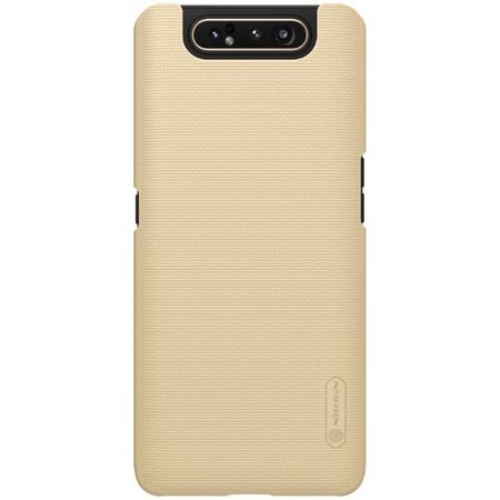 Nillkin - Samsung Galaxy A80 Hülle - Plastik Case - Super Frosted Shield Series - gold