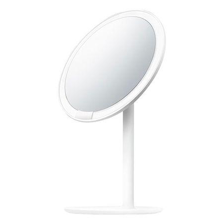"AMIRO - LED Schminkspiegel (6.5"") mit 3 Beleuchtungsmodi & integriertem Akku - Mini Series - weiss"