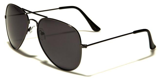 Air Force Air Force Polarized - Herren / Damen Sonnenbrille Pilotenbrille - Aviator - schwarz