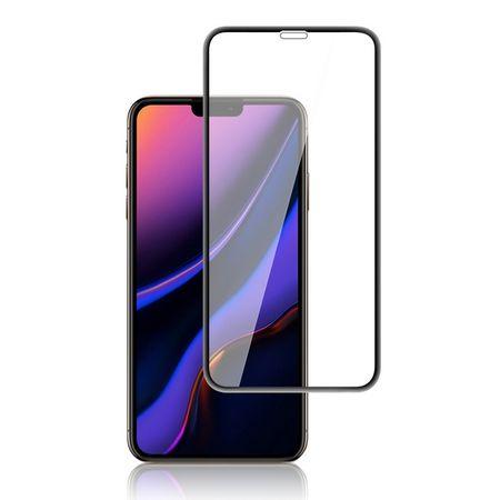 iPhone 11 / XR Panzerglas 2.5D Full Cover - Full Glue Displayschutz (0.33 mm) - schwarz