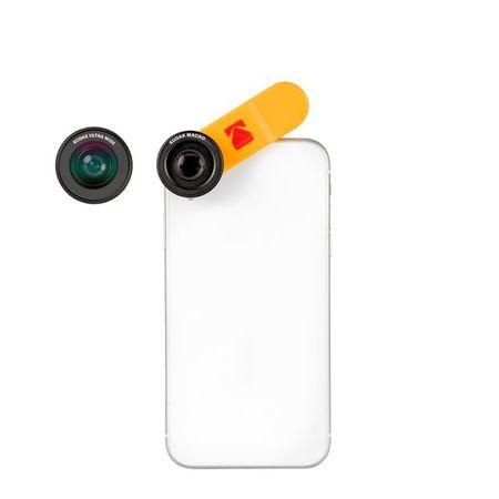 Kodak - 2 in 1 Smartphone Linsen Set