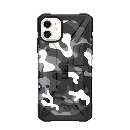 UAG - iPhone 11 Hülle - Robustes Backcover - Pathfinder Case - camo weiss