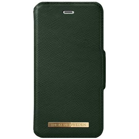 iDeal of Sweden - iPhone 8 Plus/7 Plus/6S+/6+ Handyhülle, Designer Bookcase FASHION - grün