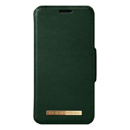 iDeal of Sweden - iPhone XS Max Handyhülle, Designer Bookcase FASHION - grün
