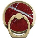 iDeal of Sweden - Magnetischer Halter - Selfie Finger Ring - Scarlet Red Marble