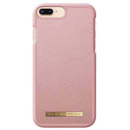 iDeal of Sweden - iPhone 8 Plus / 7 Plus / 6S+ / 6+ Hülle - Fashion Case Saffiano - pink
