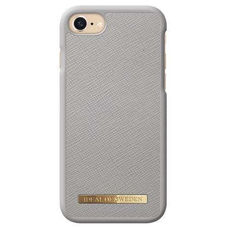 iDeal of Sweden - iPhone 8 / 7 / 6S / 6 Hülle - Fashion Case Saffiano - hellgrau